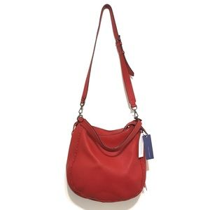 Rebecca Minkoff Leather Unlined Convertible Hobo